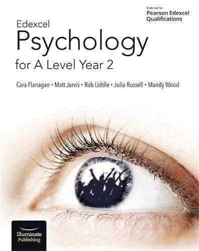 Edexcel Psychology for A Level Year 2: Student Book By Cara Flanagan