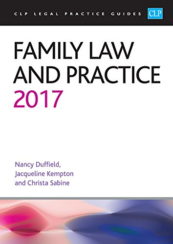 Family Law and Practice: 2017 by Nancy Duffield