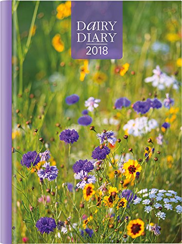 Dairy Diary 2018: A5 Week-to-View Diary with Recipes, Pocket and Stickers: 2018 by Marion Paull