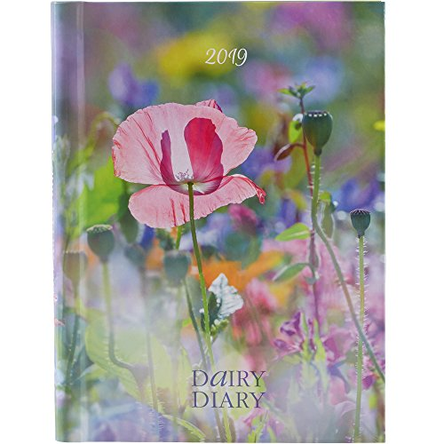 Dairy Diary 2019 2019: A British icon - Dairy Diary has been used by millions since its launch. Practical and pretty, this A5 week-to-view diary features 52 delicious weekly recipes. By Marion Paull