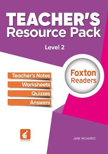 Foxton Readers Teacher's Resource Pack - Level-2 By Jane Richards