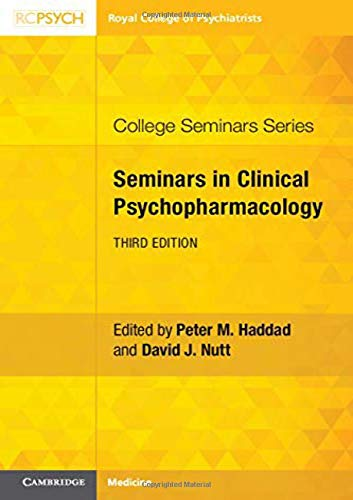 Seminars in Clinical Psychopharmacology By Peter M. Haddad
