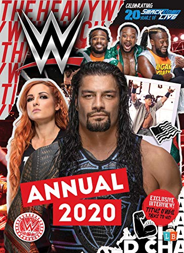 WWE Official Annual 2020 By Little Brother Books