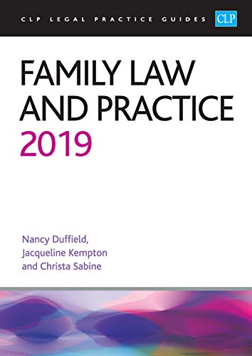 Family Law and Practice 2019 By Christa Sabine