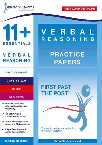 11+ Essentials Verbal Reasoning Practice Papers Book 2 By Eleven Plus Exams