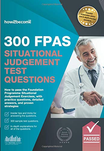 300 FPAS Situational Judgement Test Questions By How2Become