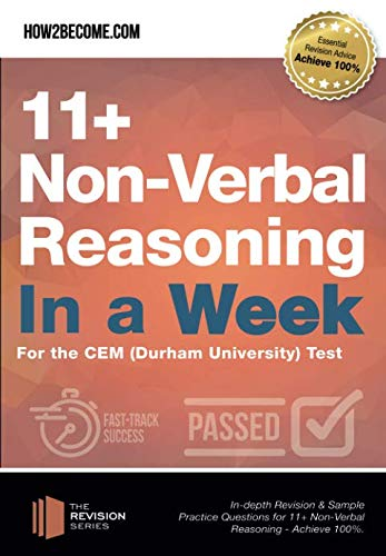 11+ Non-Verbal Reasoning in a Week By How2Become