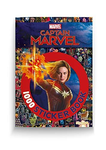 Captain Marvel 1000 Sticker Book By Centum Books Ltd