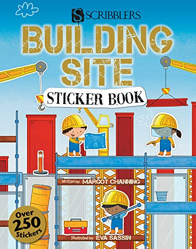 Scribblers Fun Activity Building Site Sticker Book By Margot Channing