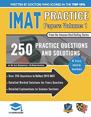 IMAT Practice Papers Volume 1 By Alex Ochakovski