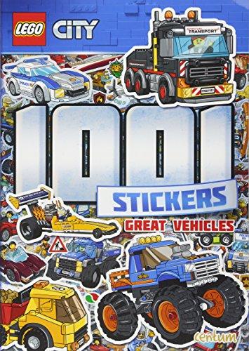 Lego - City - 1001 Stickers By Centum Books Ltd
