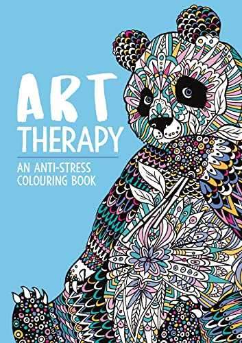 Art Therapy: An Anti-Stress Colouring Book for Adults By Richard Merritt