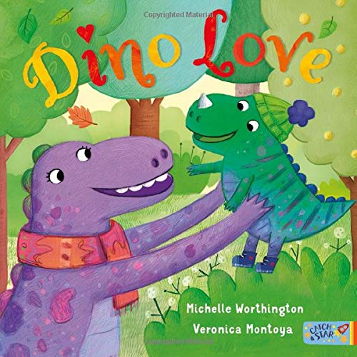 Dino Love By Michelle Worthington