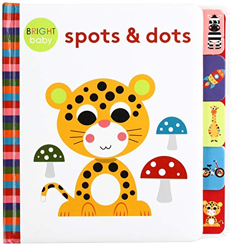 Bright Baby Tabs - Spots and dots By Rebecca Weerasekera