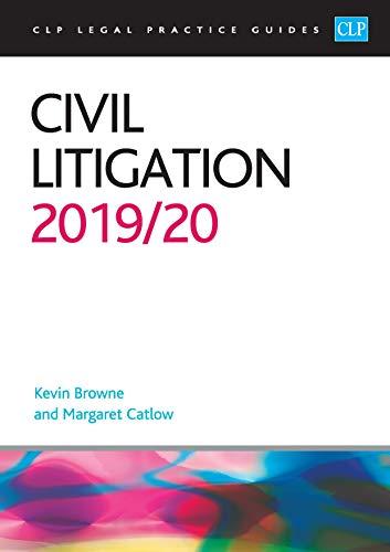 Civil Litigation 2019/2020 By Kevin Browne