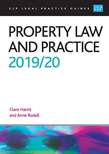 Property Law and Practice 2019/2020 By Rodell