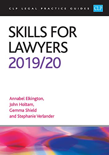 Skills for Lawyers 2019/2020 By Annabel Elkington