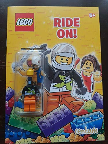 Lego Ride on Activty Book with Minifigure By Lego