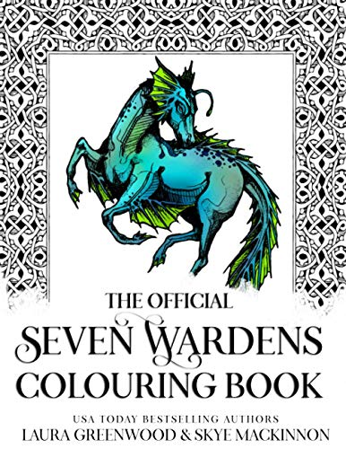 The Official Seven Wardens Colouring Book By Skye MacKinnon