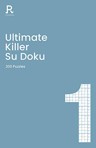 Ultimate Killer Su Doku Book 1 By Richardson Puzzles and Games