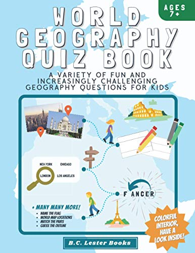 World Geography Quiz Book By B C Lester Books