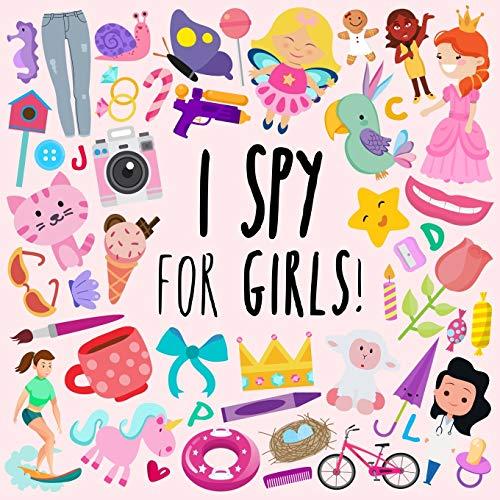 I Spy - For Girls! By Webber Books