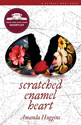 Scratched Enamel Heart By Amanda Huggins
