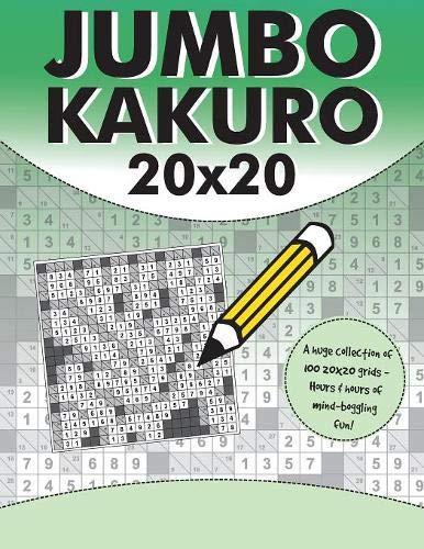 Jumbo Kakuro By Clarity Media