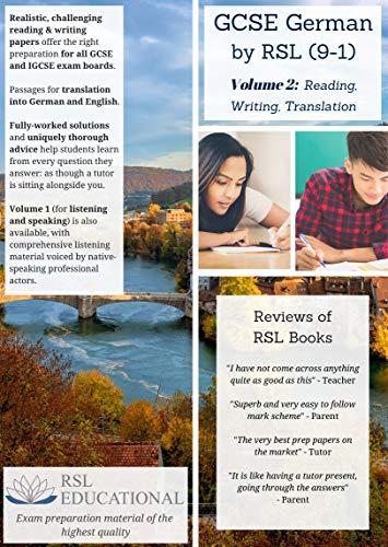 GCSE German by RSL, Volume 2: Reading, Writing, Translation By Matt Lim