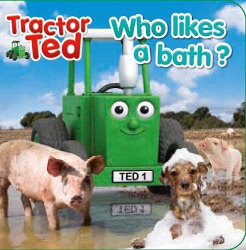 A Tractor Ted Magic Bath Book By Alexandra Heard