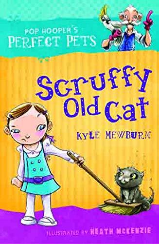 Scruffy Old Cat By Kyle Mewburn