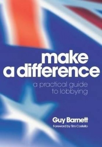 Make a Difference By Guy Barnett