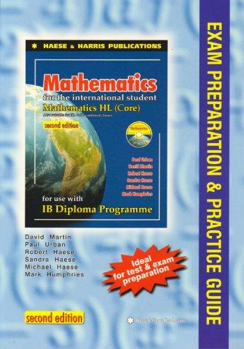 Mathematics for the International Student IB Diploma By Robert Haese