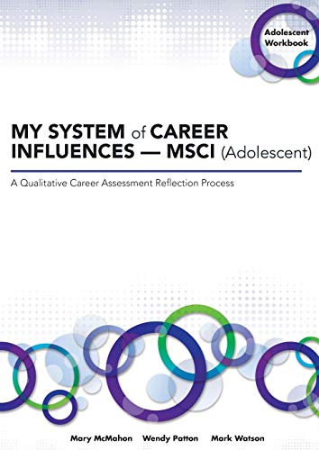 My System of Career Influences - Msci (Adolescent): Workbook By Mary McMahon