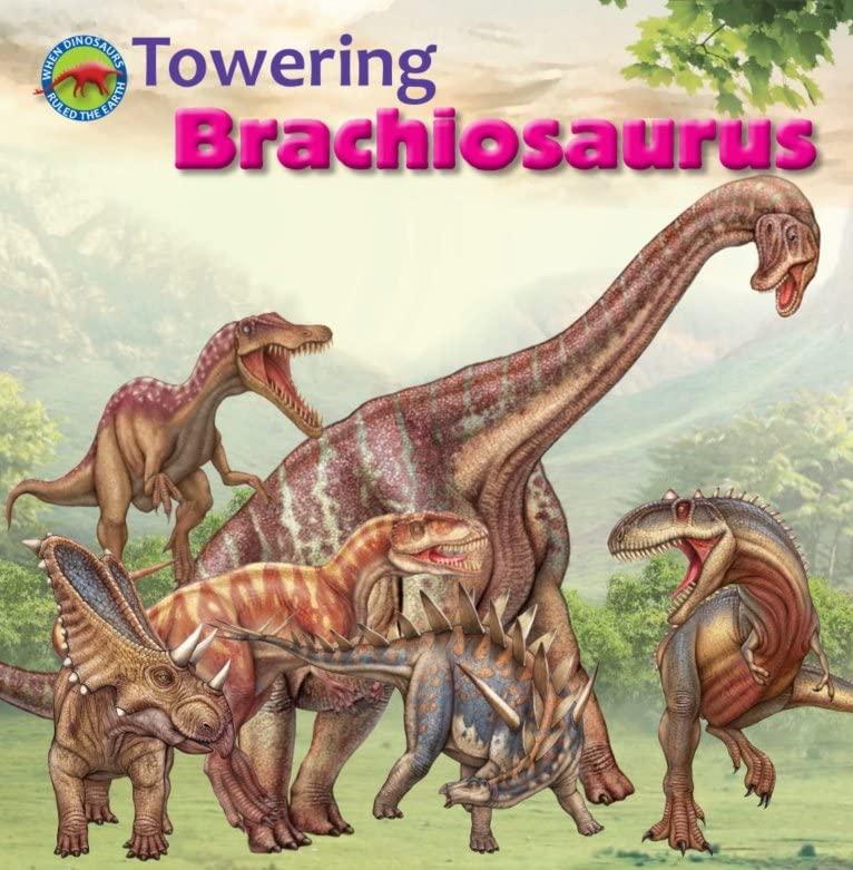 Towering Brachiosaurus By Tortoise Dreaming