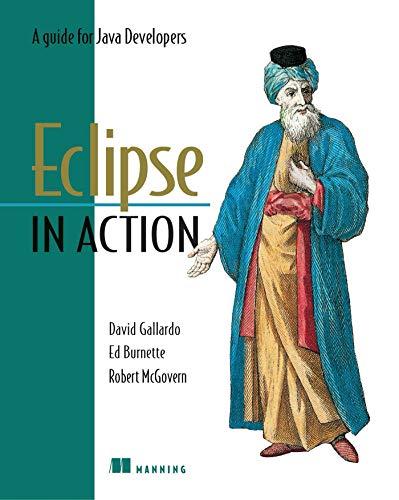 Eclipse in Action By David Gallardo
