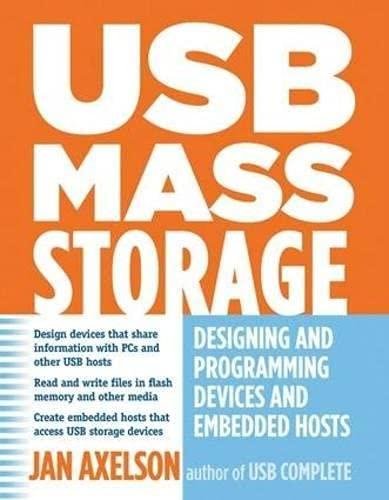 USB Mass Storage By Jan Axelson