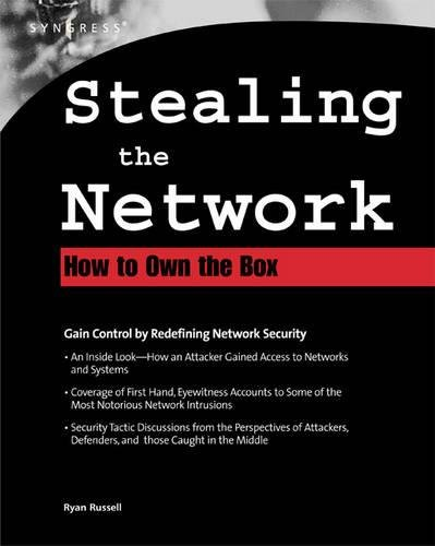 Stealing The Network By Syngress