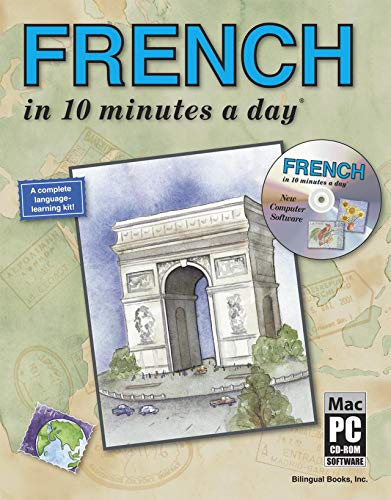 FRENCH in 10 minutes a day (R) Audio CD By Kristine K. Kershul