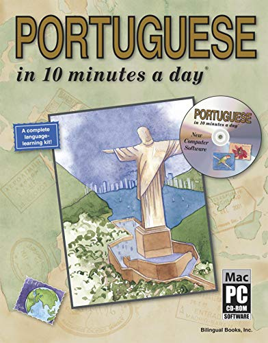 Portuguese in 10 Minutes a Day By Kristine Kershul, MA