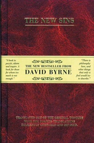 The New Sins/Los Nuevos Pecados by David Byrne