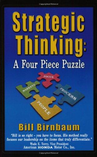 Strategic Thinking By Bill Birnbaum
