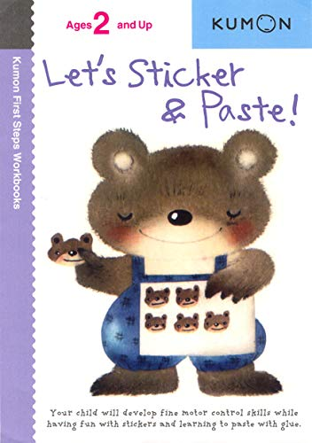 Let's Sticker and Paste! By Kumon