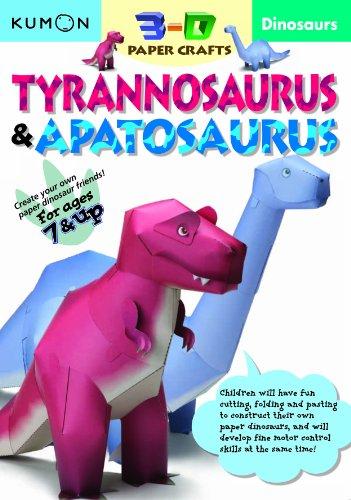 Dinosaurs Tyrannosaurus & Apatosaurus By Kumon Publishing