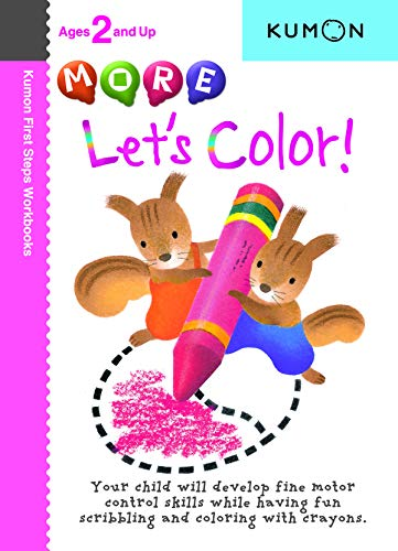 More Let's Color By Kumon