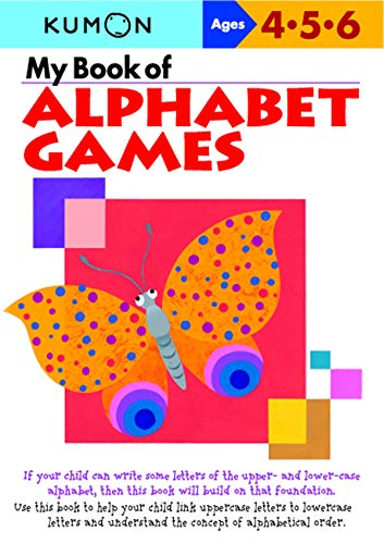 My Book of Alphabet Games By Kumon
