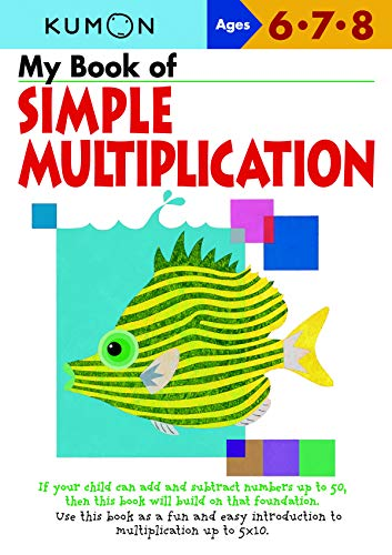 My Book of Simple Multiplication By Kumon