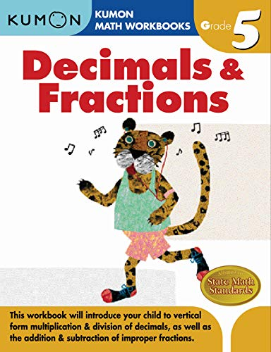 Grade 5 Decimals and Fractions By Kumon