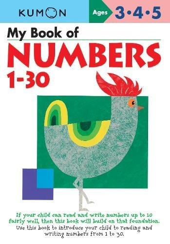 My Book Of Numbers 1-30 By Kumon Publishing