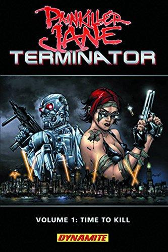 Painkiller Jane Vs. Terminator By Jimmy Palmiotti